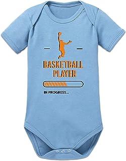 Shirtcity Basketball Player in Progress Baby Strampler by