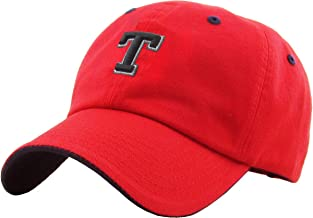 hats with the letter t