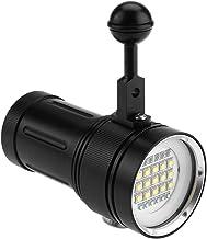 15 x L2 Ljus LED-dyklampa Aluminiumlegering Vattentät undervattensvideofotografering