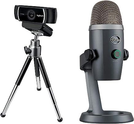 Logitech C922 Pro Stream Webcam, streaming Full HD 1080p con treppiede e licenza XSplit gratuita di 3 mesi, Nero + Blue Yeti Nano Microfono USB - Trova i prezzi più bassi