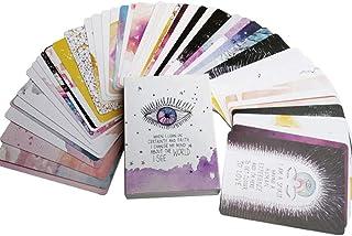 52カードタロットカード、宇宙オラクルカード、占いカード、英語、カードゲームボードゲームパーティーゲームカード