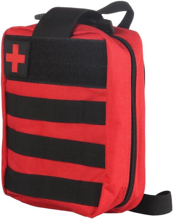 ONEVER Kit de Primeros Auxilios Kit de Supervivencia táctico Molle Rip-Away EMT Bolsa de Bolsa IFAK Medical para situaciones de Emergencia de táctica