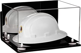 Deluxe Clear Acrylic Large Helmet - Hard Hat Display Case