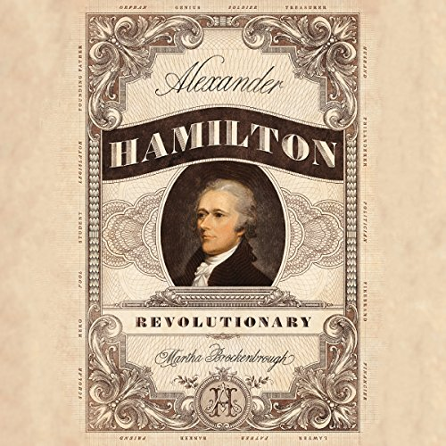 Alexander Hamilton, Revolutionary audiobook cover art