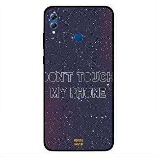 Honor 8X Case Cover Dont Touch My Phone Stars Background