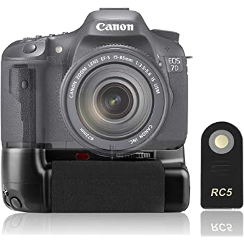 Meike MK-7DL Professional Vertical Battery Grip Holder Multi-Power for Canon 7D as BG-E7