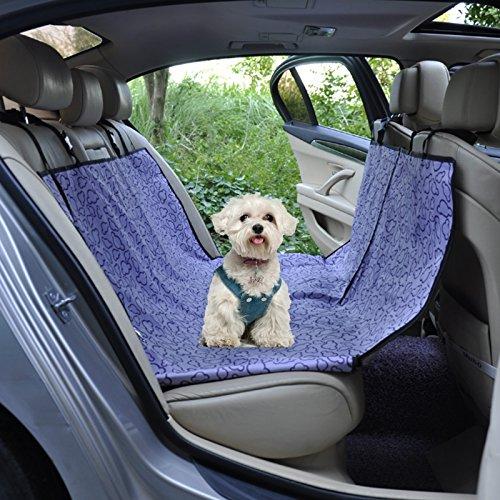 Hond Stoelhoes, Waterdicht Huisdier Kat Auto's Stoelen Covers Achterrug Mat Kussen Bescherming, Zwart/Groen/Paars