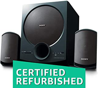 (Renewed) Sony SA-D20 C E12 2.1 Channel Multimedia Speaker System with Bluetooth (Black)