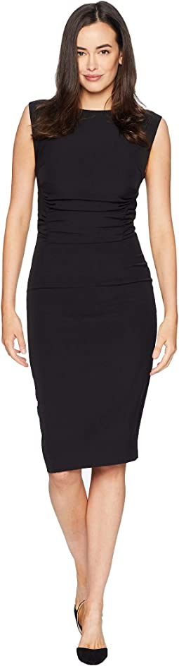 Cap Sleeve Ruched Sheath