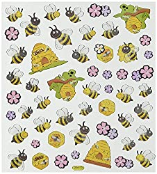 Spring Bee and Hive Stickers