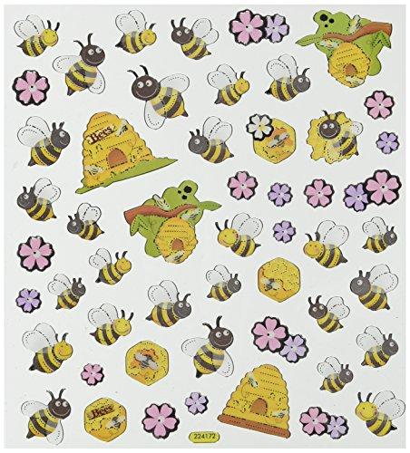 Tattoo King Aufkleber Frühlingsbienen und Bienenstöcke