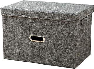WPCASE Panier De Rangement Cube De Rangement Tissu Petit Panier De Rangement Boite Rangement Tissu Bac De Rangement Tissus...