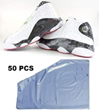 Shoe Shrink Wrap Bags, Sneaker Shrink Wraps Fits up to Men Size 13, Effectively Avoid Sole Yellowing and Keep Dust Away, 16x11 in Large Shoes Protector (50 pcs)