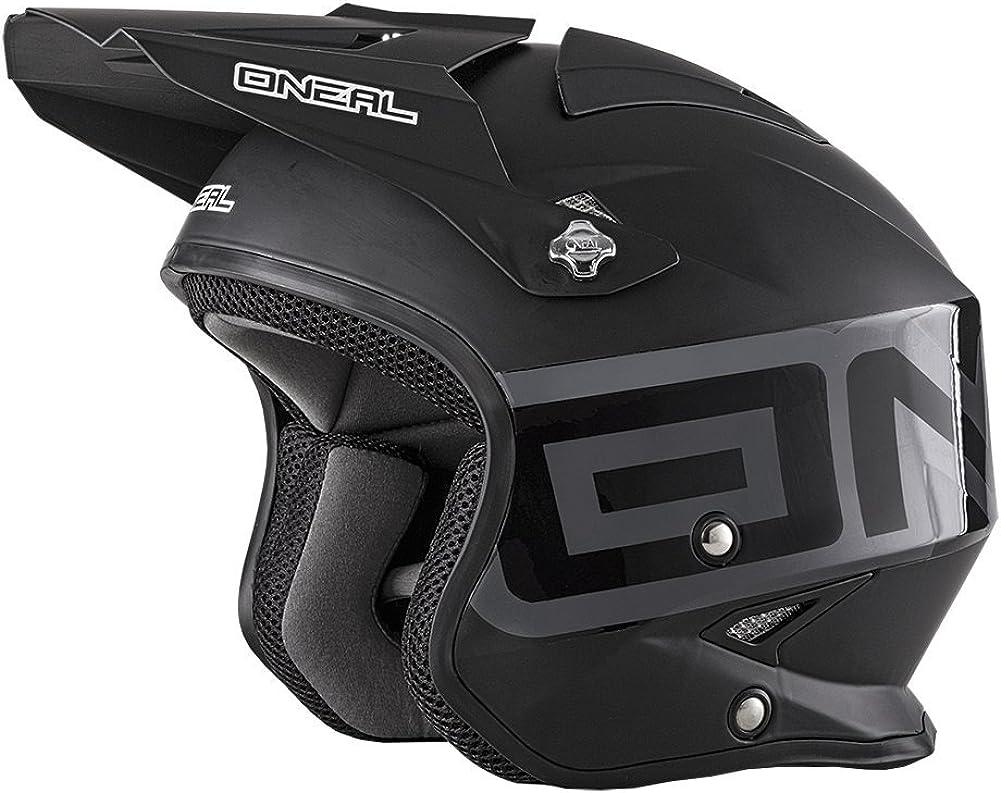 O'Neal Unisex-Adult Off Road Slat Columbus Mall Solid L Black Colorado Springs Mall Matte Helmet
