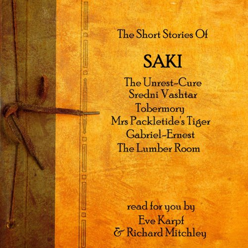 Saki audiobook cover art