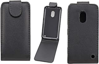 QGTONG-SA Vertical Flip Magnetic Snap Leather Case for Nokia Lumia 620