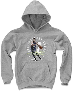 500 LEVEL Karl-Anthony Towns Minnesota Basketball Kids Hoodie - Karl-Anthony Towns Number