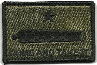HLK Culpeper Tactical Morale Hook Patches Gonzales Come & Take It (Olive Drab)
