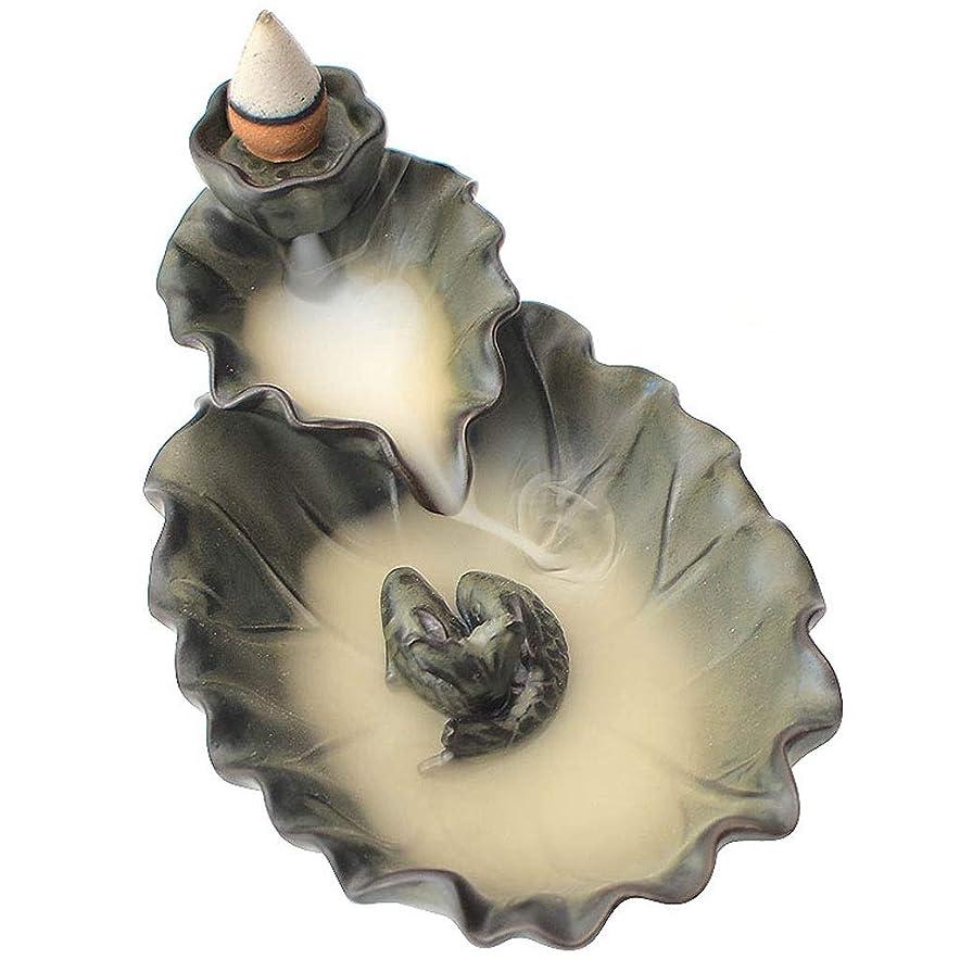 インポート細分化する白鳥芳香器?アロマバーナー 逆流香バーナーホームビューイングホームリビングルームの装飾ロータス禅アロマテラピー炉 アロマバーナー (Color : TANSEI)