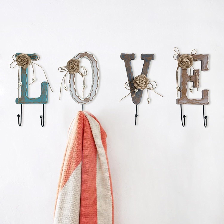 Creative Hanger Home Decorations Hanging Clothes Hook Hat Rack Wooden Decoration