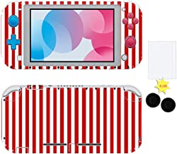 Reiko Full Set Faceplate Skin Decal Stickers for Nintendo Switch Lite with 2Pcs Screen Protector and 1 Pairs Stick Caps,Ni...