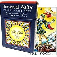 タロットカード 78枚 ライダー版 タロット占い 【 ユニバーサル ウェイト ポケット タロット Universal Waite Pocket Tarot 】日本語解説書付き [正規品]