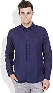 ZAKOD Plain Men's Wear Cotton Shirts for Daily Use,100% Pure Cotton Shirts,Available Sizes M=38,L=40,XL=42,6 Colors Available