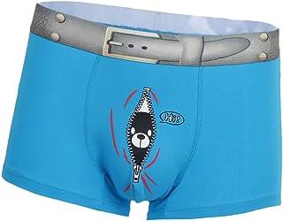 Prettyia Novelty Men's Boxers Bulge Pouch Trunks Funny Cute Bear Printed Briefs Shorts Cotton Underwear