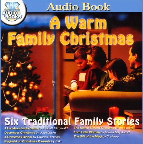 A Warm Family Christmas audiobook cover art