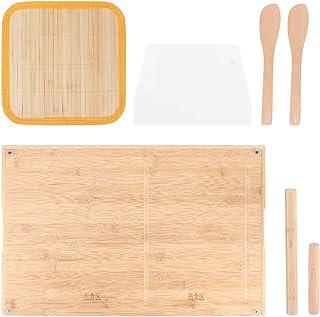 Planche à pâte à pain à la viande, avec évier de guidage, ustensile de cuisson, poignée d'oreille, tapis de pâtisserie en ...