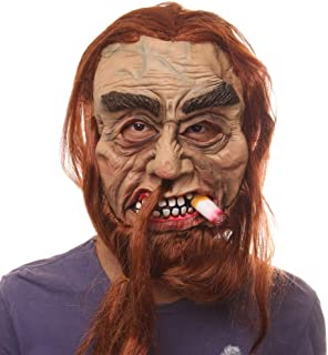 HUIMEIS AU Latex mask Stick Horrible Scary Props