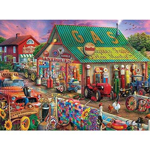 Puzzle 1000 Teile,Impossible Puzzle,Geschicklichkeitsspiel für die Ganze Familie,Farbenfrohes Legespiel,Puzzle anspruchsvoll, Erwachsenenpuzzle ab 14 Jahren (7)