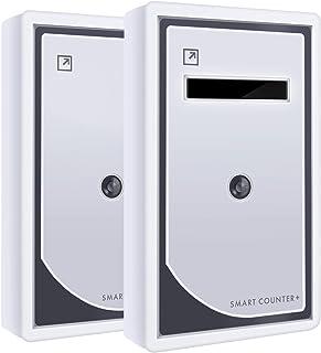 人々は365日の記憶を打ち消します。 microSDカードを使ってパソコンにデータを転送する。 タイムスタンプ訪問による日数および時間による訪問の統計。 赤外線ビジターカウンター SMART COUNTER Data