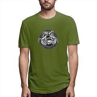 Shirt French Bulldog Puppy Pit Bull Men's Cotton Casual T-Shirt