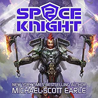 Space Knight, Book 2 audiobook cover art