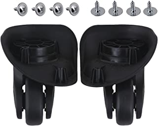 RDEXP DIY Luggage Left and Right Swivel Coaster Wheels 3.58