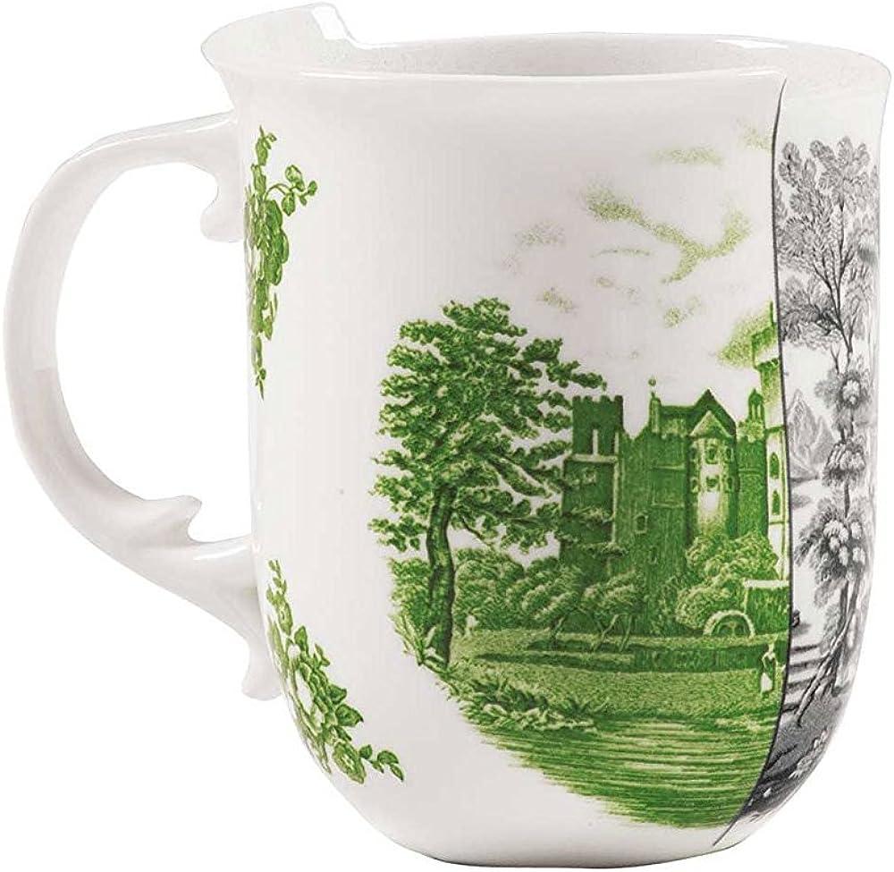 Seletti tazza mug, in porcellana Ø cm.8,5 h.10,2