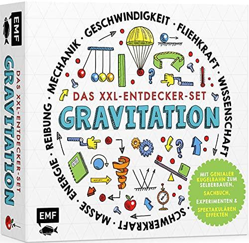 Das XXL-Entdecker-Set – Gravitation: Mit genialer Kugelbahn zum Selberbauen, Sachbuch, Experimenten und spektakulären Effekten: Modell im Set: ... Trichter, Pendel, Schrauben und vielem mehr