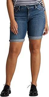 Silver Jeans Co. Elyse Relaxed Fit Mid Rise Bermuda Short