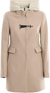 Fay Luxury Fashion Womens NAW59393430RCPC002 Beige Coat | Fall Winter 19