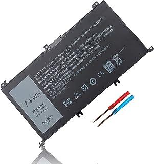 74WH Type 357F9 71JF4 11.4V Battery for Dell Inspiron 15 7000 Gaming 15 7559 i7559 7557 i7557 5577 i5577 5576 7566 7567 i7...