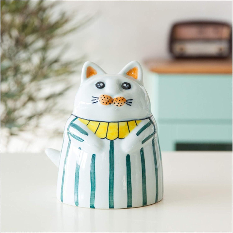 Ceramic Piggy mart Free shipping Bank Large Capacity Kitt Adult Children