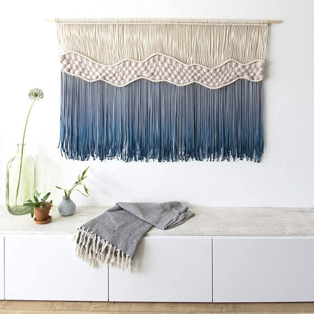 Large Macrame Wall Tapestry Boho Decor Handmad Hanging Chic Cheap Department store super special price