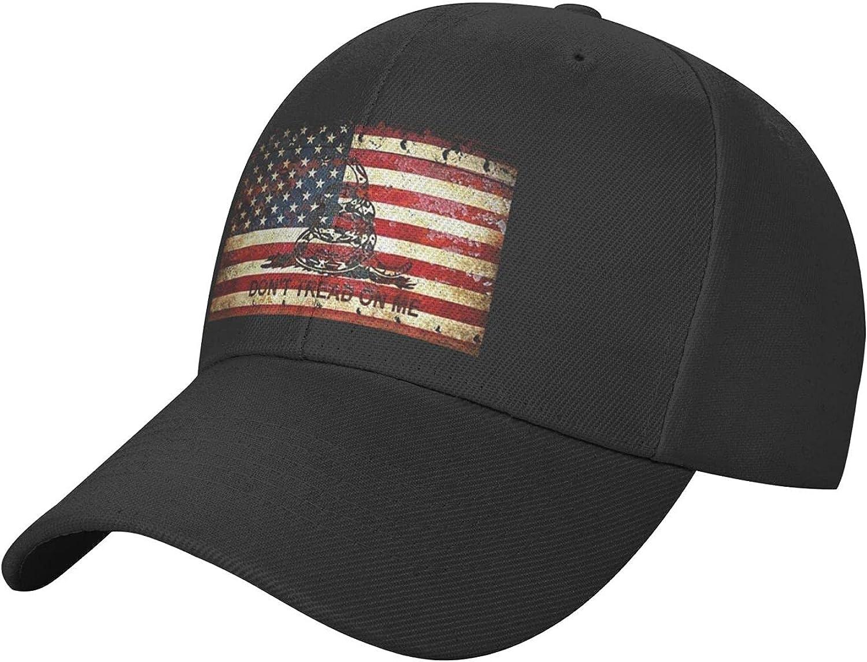 USA American Flag with Desert Camo Hat, Adjustable Classic Baseball Cap, Sun Hats for Women& Men