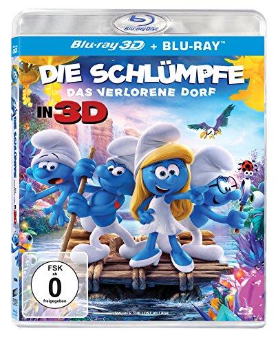 Die Schlümpfe - Das verlorene Dorf [3D Blu-ray] (+ Blu-ray 2D)