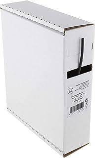 Heat Shrink Tube Black 2:1 2.4-1.2 mm 11.5 Metres - Dispenser Box