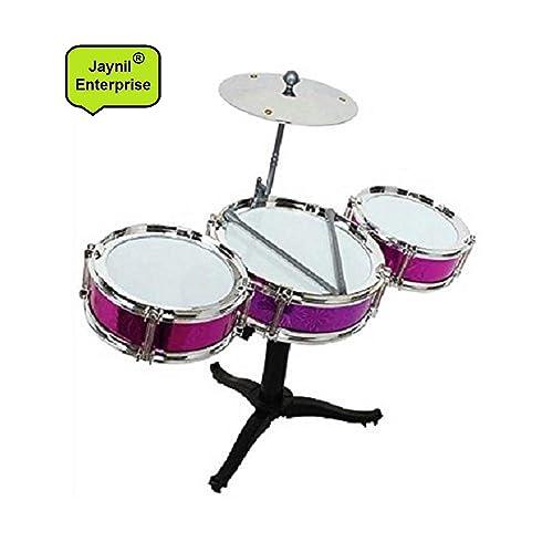 JAYNIL Enterprise Multicolor Jazz Drum Set for Kids