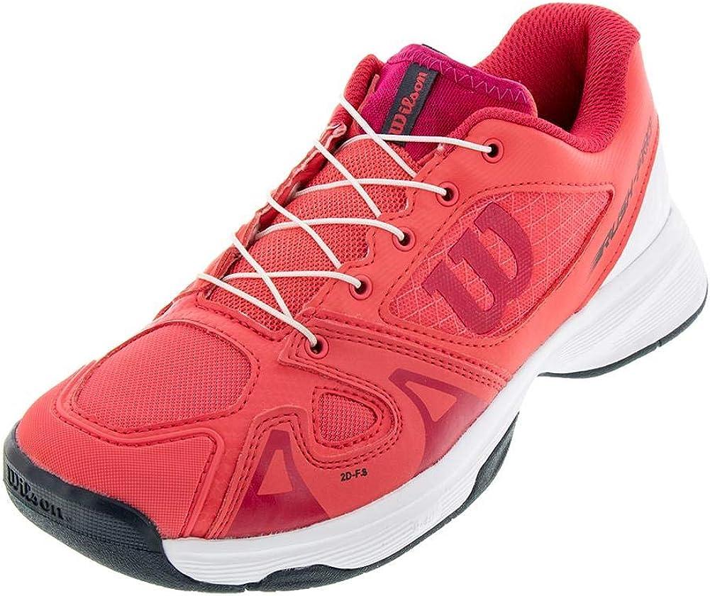 WILSON Unisex-Child Rush Pro Jr Ql Tennis Shoes