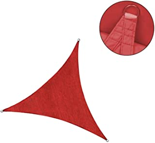 Benjamin Wyat(t) Triangular Shade Sail Sun Shade 444m Permeable to Air Sun Protection HDPE with UV Protection for Garden Terrace Camping