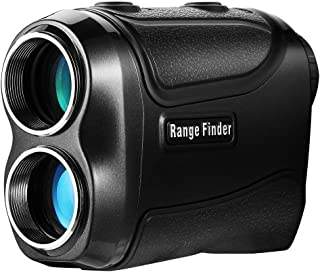 PetitWINGBACK Range Finder for Golf or Hunting with Pinsensor - Laser Binoculars-6xmagnification - Free Battery - Balck